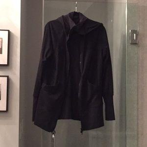 Black Lululemon scuba jacket XL